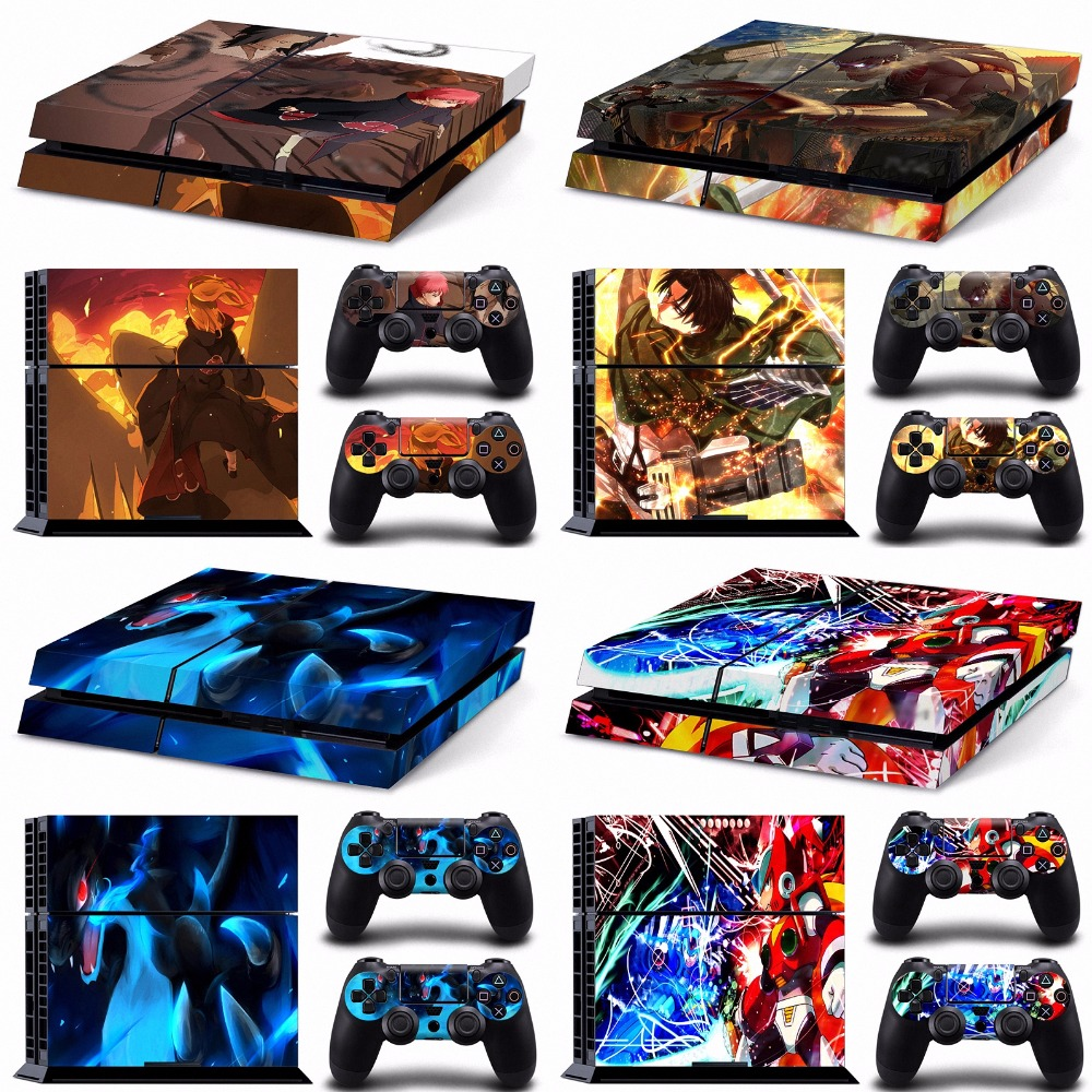 Shingeki no kyojin call of duty mega man skin ps4 dbz skins ps4 skin sticker for sony playstation 4 sticker wrap decal