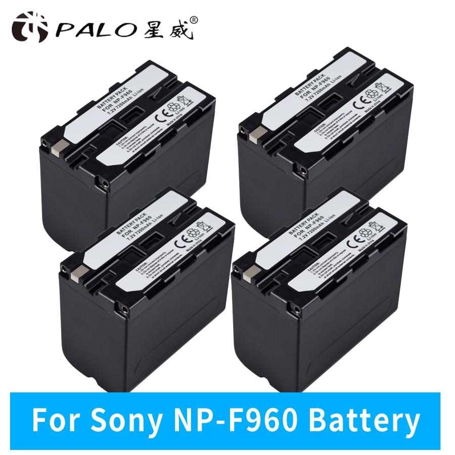 7.2V 7200mAh NP-F960 NP-F970 NP F970 NP F960 Camcorder batteries(4 Pack) for Sony NP-F550 F770 F750 F960 F9707.2V 7200mAh NP-F960 NP-F970 NP F970 NP F960 Camcorder batteries(4 Pack) for Sony NP-F550 F770 F750 F960 F970