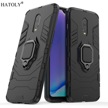 Cover Oneplus 7 Case for Magnetic Finger Ring Phone Shell Protective Hard PC TPU Armor For