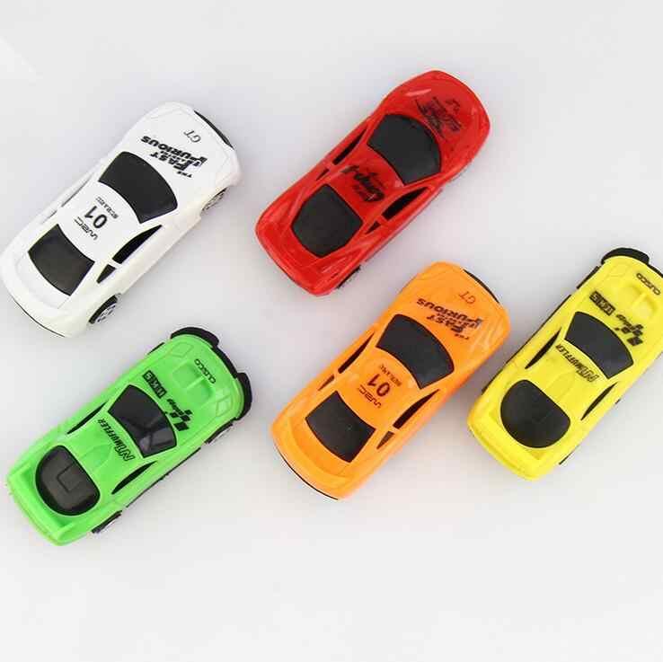 2018 Bergegas Brinquedos Model 1/64 Mobil Mobil Pixar Mobil Plastik Lucu Q Versi Taksi Mini Saku Mainan Anak Hadiah Grosir E