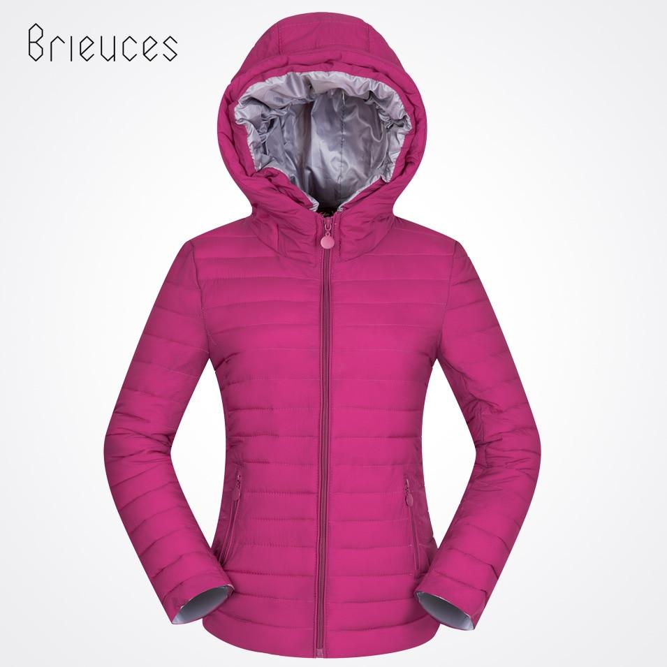 Brieuces New Female Warm Winter Jacket Women Coat   Parkas   2017 Cotton-padded Jacket Plus Size 3XL Short Winter Coat Women Outwear