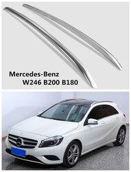 Auto bagażniki dachowe bagażnik dla Mercedes-Benz W246 B200 B180 2011-2019 wysokiej jakości fabrycznie nowy Aluminium akcesoria samochodowe
