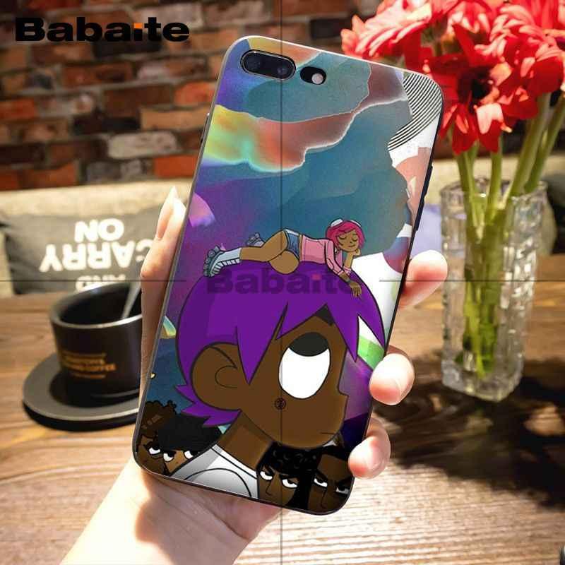 Babaite Lil Uzi Vert Soft Rubber Black Phone Case For Apple Iphone
