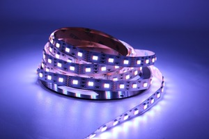 12 мм PCB RGB CCT Светодиодная лента 5050 DC12V/24 В гибкий свет RGB + белый + теплый белый 5 цветов в 1 светодиодный чип 60 светодиодов/м 5 м/лот водонепроница...