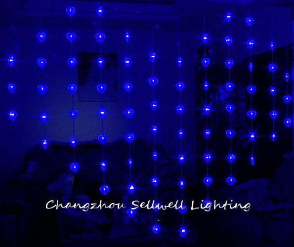 2018 Limited Christmas Decorations New!led Holiday Light Wedding Celebration Showcase Decoration 1.6*2m Bead Curtain Lamp H305 artificial christmas tree christmas decorations for home great wedding celebration product door decoration 3 8m led lamp h315