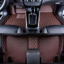 WLMWL Car Floor Mats For Citroen all models C4-Aircross C4-PICASSO C6 C5 C4 C2 C-Elysee C-Triomphe Car Carpet Covers floor mats цена