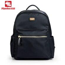 Hanke Casual Backpack Women High School College Student Book Bags Teenager Girls Lady Lightweight Daypack Nylon