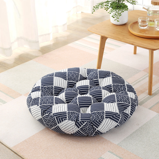 Us 25 3 Floor Cushions Mattress Mat Pad Home Decor Multifunction Sofa Chair Seat Cushions Large Round Thick Floor Cushion Round 50cm In Cushion From