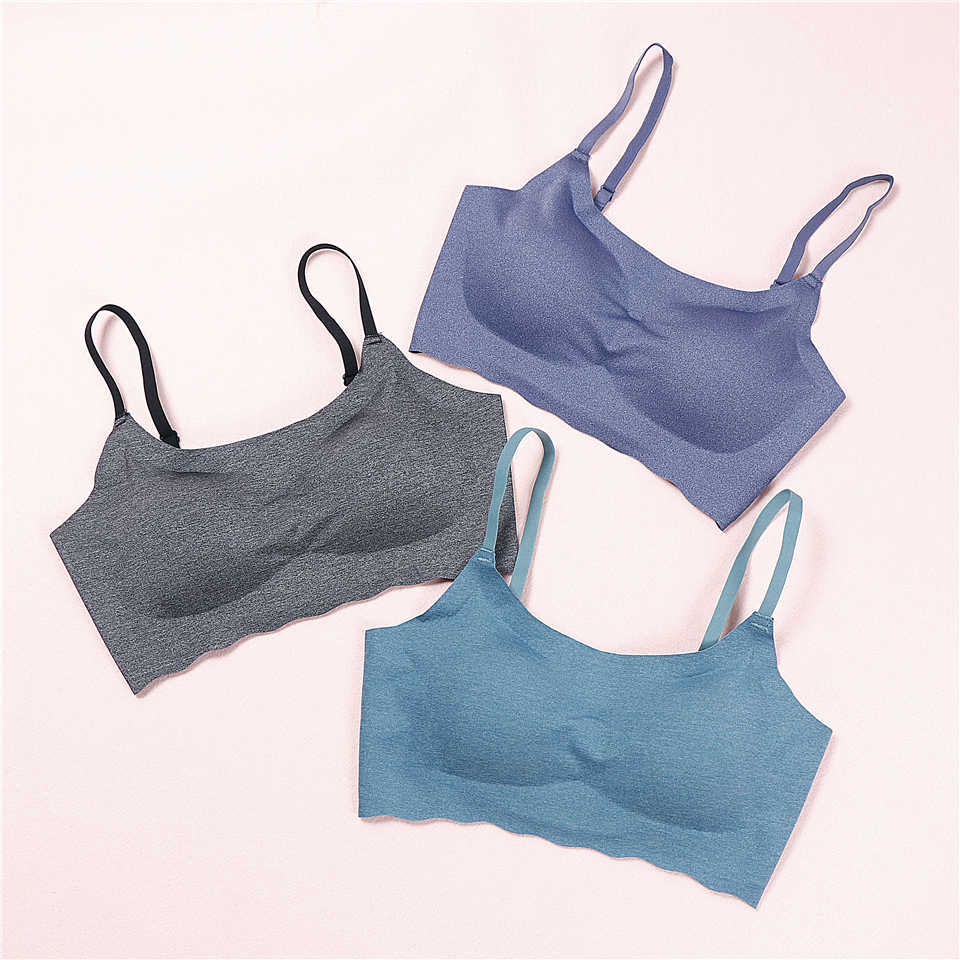 a32499672061a New Sexy Lingerie Wire Free Women Underwear Seamless Bra Sleep Brassiere  Breathable Thin Soft Full Cup