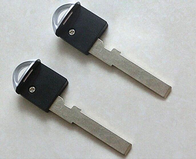 New Emergency Key Blank Uncut for Nissan GT-R Smart Key