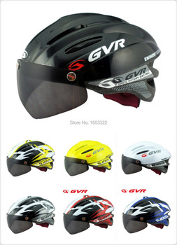 GVR Riding goggles safety bike cycling bicycle casco bicicleta capacete ciclismo helmet With Magnetic UV Visor