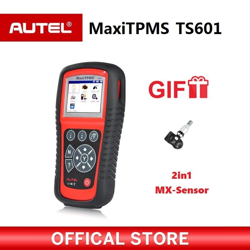 AUTEL MaxiTPMS TS601 автомобиля OBD2 инструмент диагностики активировать шин Сенсор TPMS перепрограммирования автомобильный Code Reader Сканер PK TS501