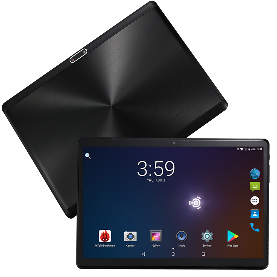 10 inch Tablet PC Android 8.1 Octa Core 4+32gb 1280*800 3G Phone 4G LTE tablets Big battery 6000mah IPS 2.5D Tempered Glass