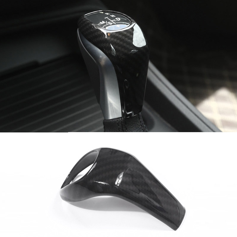 New!! Carbon Fiber Style ABS Plastic Gear Shift Head Cover Trim For BMW X1 F48 2016/17 2 series 218i Gran Tourer F46 2015-2017 interior for chevrolet camaro 2016 2017 abs carbon fiber style transmission shift gear panel cover trim 1 piece page 1
