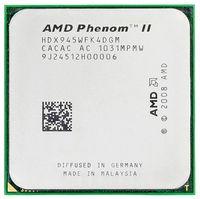 Free Shipping Original AMD Phenom II X4 945 CPU processor 3.0GHz Socket AM2+/AM3 938pin L3/6M Quad CORE scrattered pieces