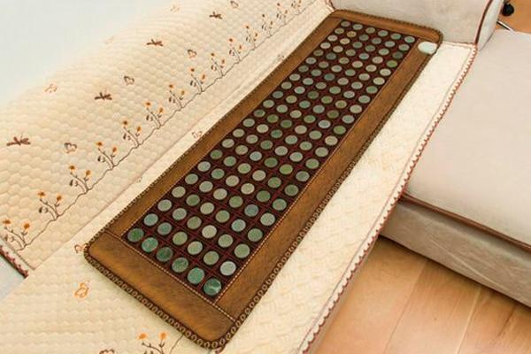 2016 Health Jade Infrared Jade Mat Heating Massage Sofa Cushion 50*150CM Free Shipping 2016 new heating massage mat with stones jade health products 50cmx150cm