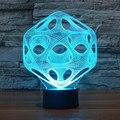 Casa Decorativa Luz Llevada Creativa 3 D Fantasía Visual Sombra Bombilla de Luz Romántica Atmósfera de Luz