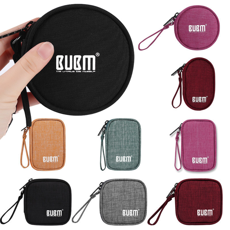 Cases Storage-Bag Hdd-Organizer Earphone Wire Usb-Data-Cable-Holder Protect Digital Portable