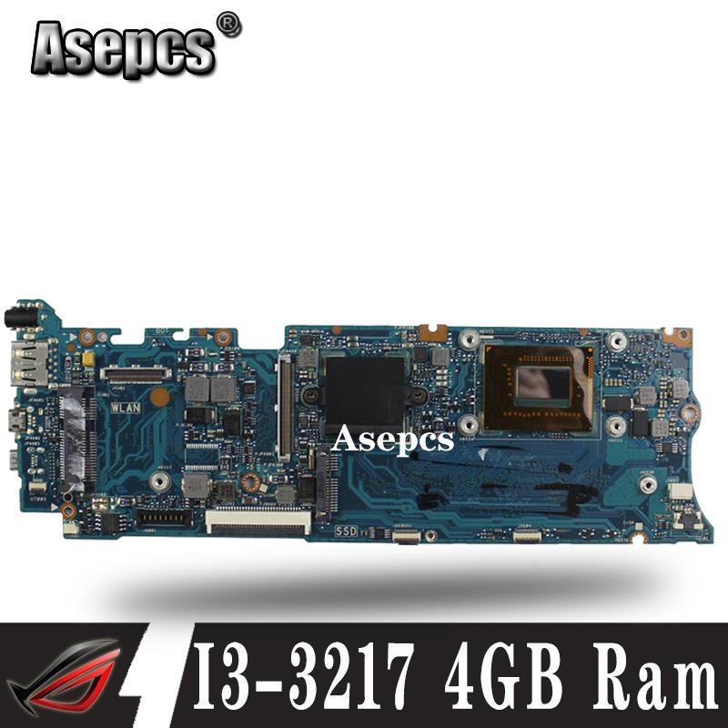 Pour Asus TAICHI31 ordinateur portable carte mère Taichi 31 carte mère avec I3-3217 CPU 4 GB Ram bon fonctionnement