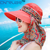2015 Summer Style Women Foldable Wide Large Brim Floppy Beach Gorro Hats Chapeu Outdoors Visors Cap