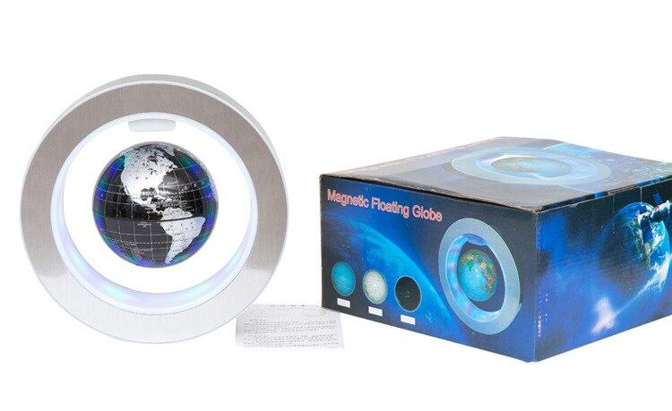 Nouvelle nouveauté décoration lévitation magnétique Globe flottant carte du monde avec lumière LED avec électro aimant et capteur de champ magnétique - 6