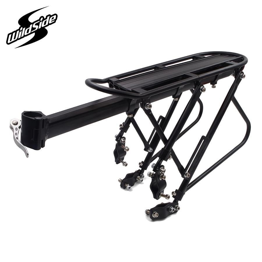 Réglable en alliage d'aluminium vélo racks vtt montagne vélo porte bagages vélo arrière cargo toit rack cycle pièces accessoires dans Porte-bicyclette de Sports et loisirs