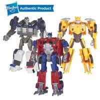 Hasbro Transformers Toys Bumblebee Optimus Barricade Energon Igniters Nitro Series Barricade Autobot Action Figure Model Car Toy