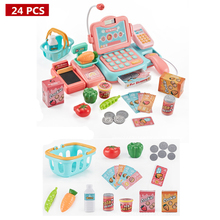 24pcs Diy Big Size Pretend Play Simulated Plastic S