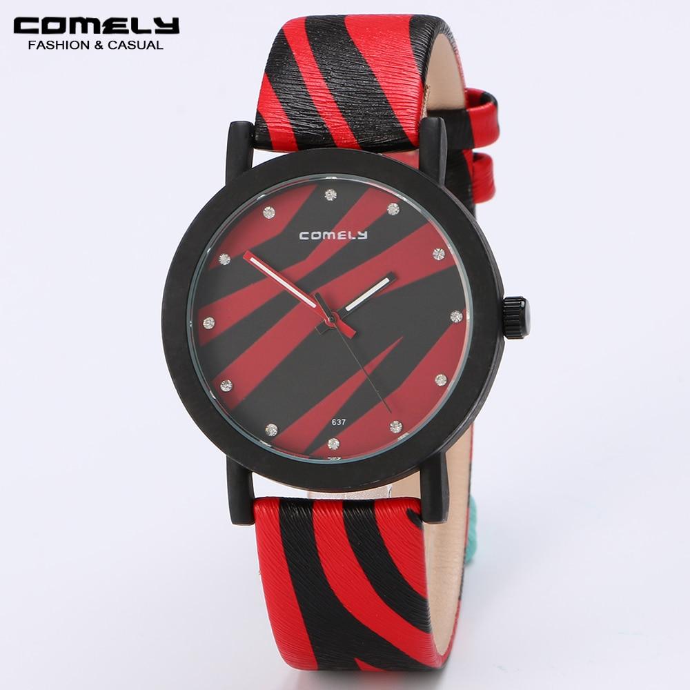 2018 New arrive Unisex Fashion Leather Strap Watch Casual Classic Outdoor Sports Unique design Analog Quartz Wristwatches 247 classic leather