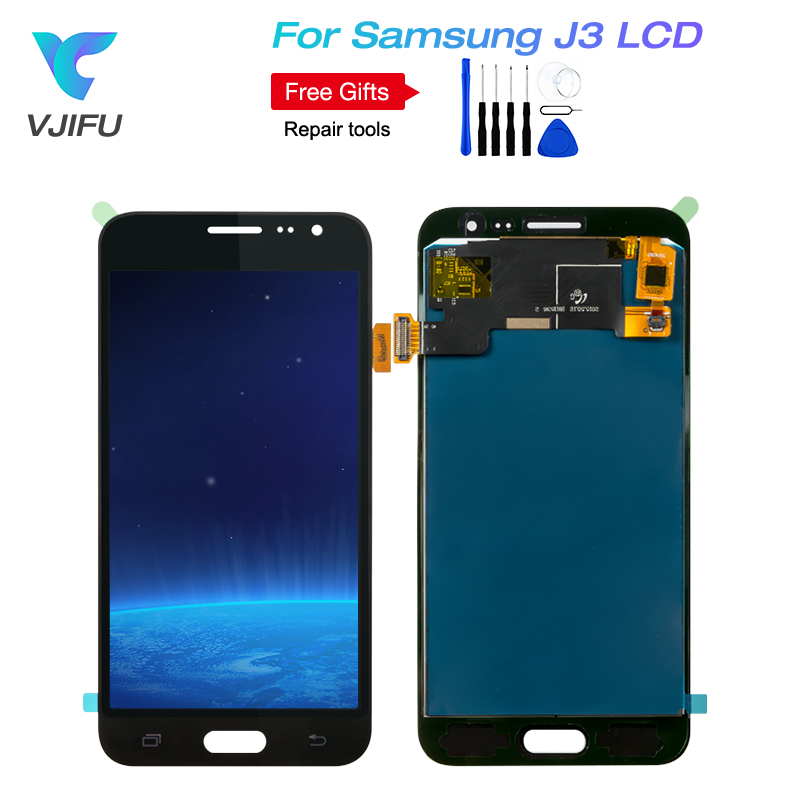 Touchscreen Display Glas LCD Display LCD Display Samsung J320F Galaxy J3 2016 Original full set White Elektronik