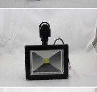 Podczerwieni pir motion sensor led reflektor 110-265 v 50 w cob ip65 led flood led światła do ogrodu reflektor zewnątrz