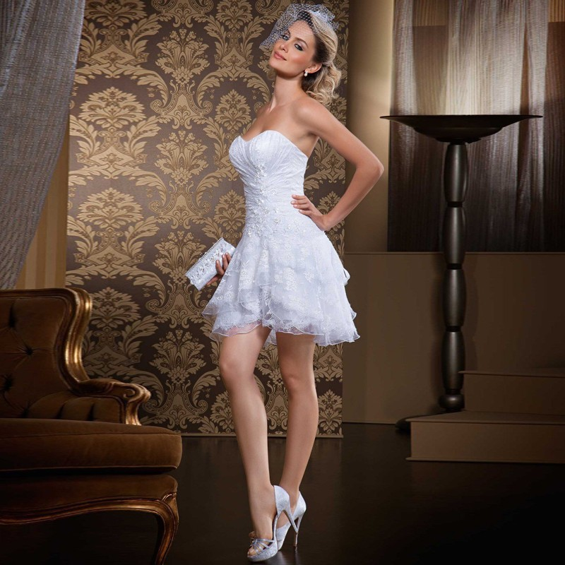 Sexy short wedding dresses