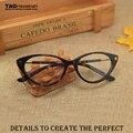 Высококлассные женские модели моды очки кадр миопия кадров 5189 cat eye glasses ретро оптических стекол óculos де грау masculino