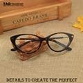 Modelos femininos de luxo de moda óculos quadro miopia quadros 5189 óculos olho de gato retro vidros ópticos oculos de grau masculino