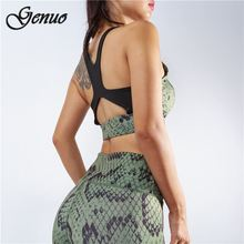 Genuo Snake print body overalls fashion 2019 winter bandage womens jumpsuits long pants serpentine patchwork rompers sexy