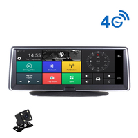 4G Wifi car DVR Android Smart System 360 Degree Rotation 8 Inch IPS Touch Screen Camcorder 170 Wide Angle GPS Navigation Support