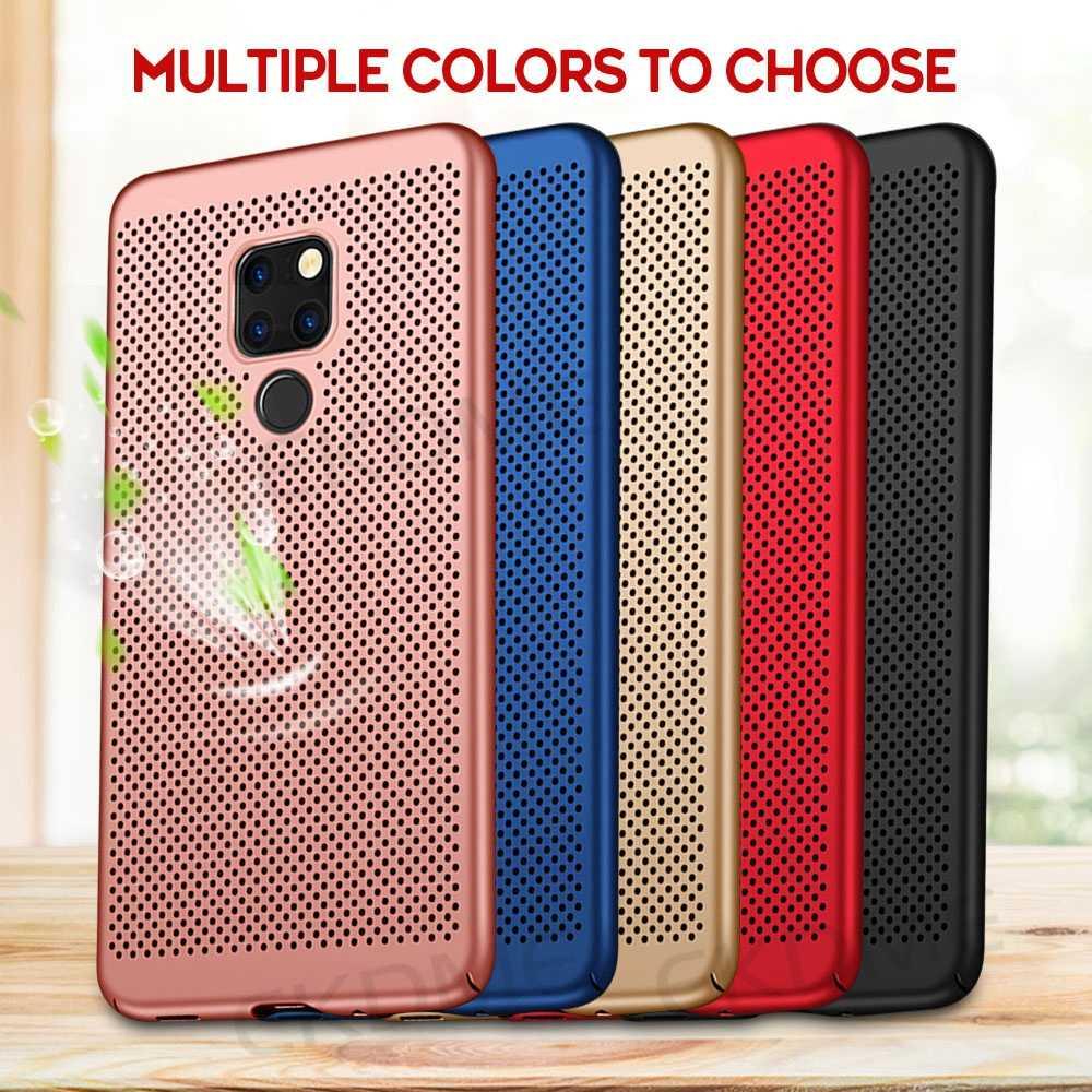 Heat Dissipation Case For Huawei P30 P20 Pro P10 Lite Mate20 Lite Nova 4 3 3i 2 For Honor 7A Pro 5.7 7A RU 7C Pro 5.99 Cases