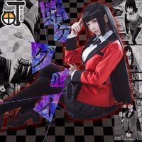 Japanese New Anime Kakegurui Yumeko Jabami Cosplay Costumes School Girls Uniform Full Set