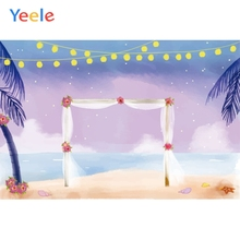 Yeele Wedding Photocall Party Flower Gauze Romantic Photography Backdrop Personalized Photographic Backgrounds For Photo Studio