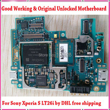 100% High Quality Original Unlocked LT26i Motherboard with Chips For Song Xperia S LT26i Motherboard by Free DHL/EMS Shipping
