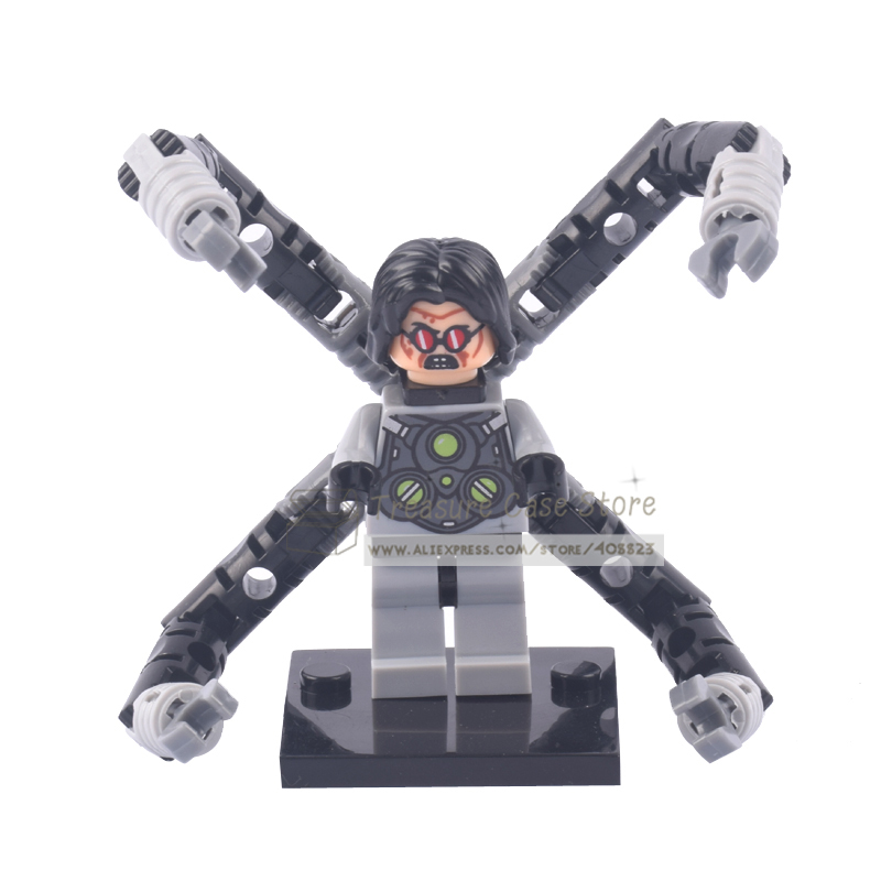 NO.218 Doctor Octopus Individual Figure Super Hero Building Toys Blocks