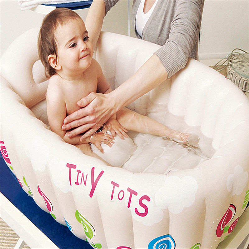 Sale 1 piece New Inflatable Baby Tub Soft Inflatable Baby Bathtub Eco friendly. Online Get Cheap Soft Tub  Aliexpress com   Alibaba Group