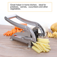 Stainless Steel French Fries Cutter Potato Chipper Strip Maker Slicer Chopper Dicer Kitchen accessories Kitchen Tools Gadgets