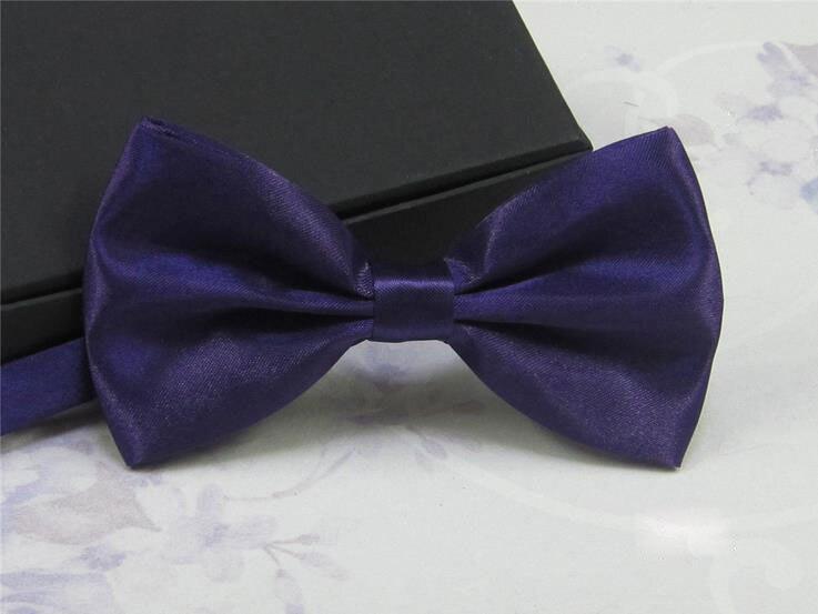 NEON BLUE Adjustable Bow Tie Pre-Tied Classic Tuxedo Party