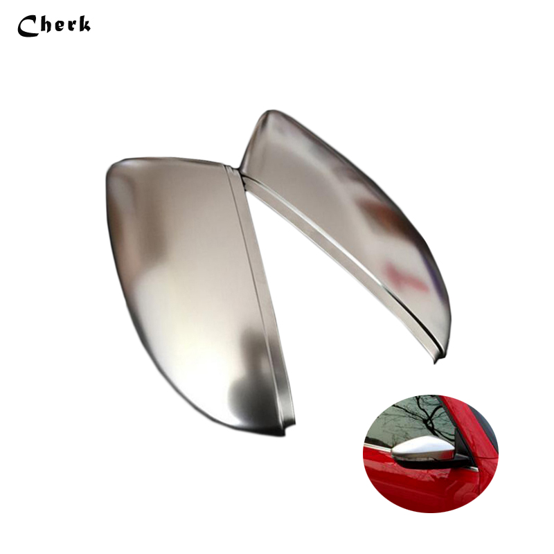 New Silver Wing Mirror Cover Housing Casing Cap For Mk4 Bora Left Side SODIAL R Wing Mirror Housing