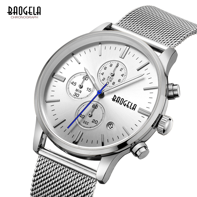Baogela New Top Luxury Watch Տղամարդկանց - Տղամարդկանց ժամացույցներ - Լուսանկար 2