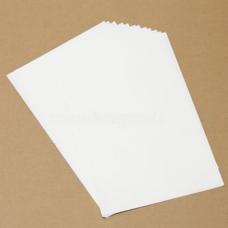 10 шт. A4 бумага для термопереноса для струйных принтеров светильник цветная бумага ткань футболка переносит фото качество принты#4