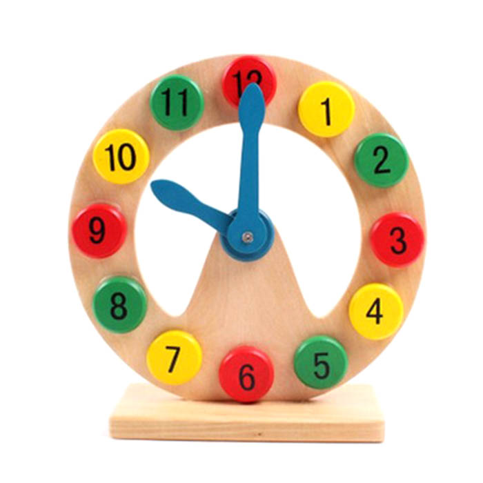 Baby Early Educational Toys Time Clock Initiation Teaching Intelligent Toys