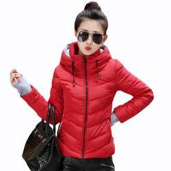 Moda outono inverno jaqueta feminina algodão acolchoado jaqueta feminina jaquetas básicas mulher casaco de inverno parkas para mulher chaqueta mujer