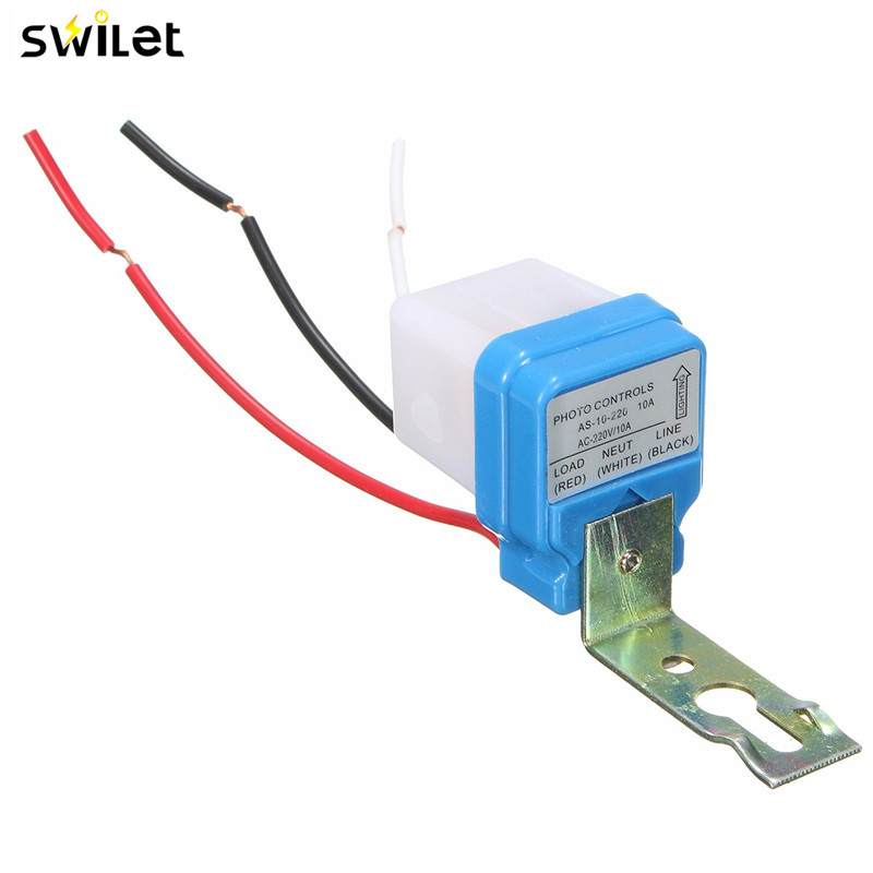 Swilet Automatic Auto On Off Photocell Street Light Switch